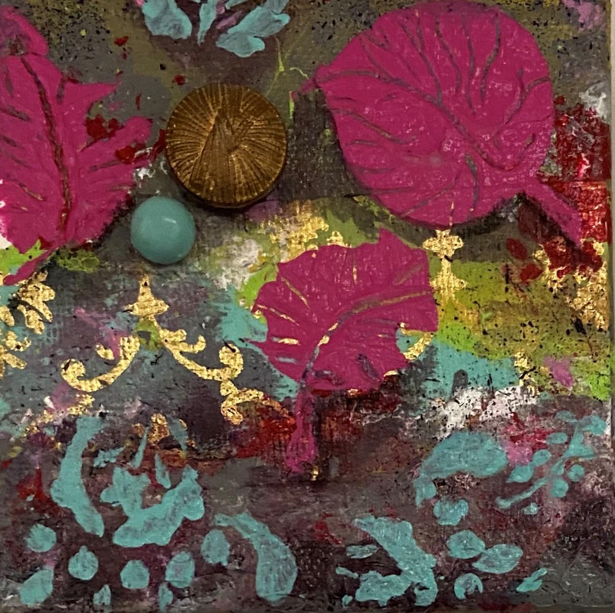 Abstract #3 - $55 - mixed media