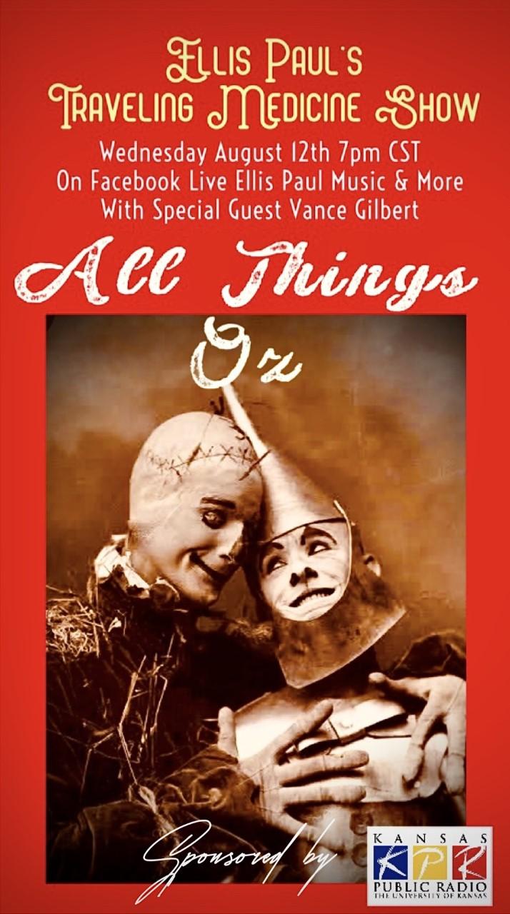 Ellis Paul's Traveling Medicine Show featuring Vance Gilbert