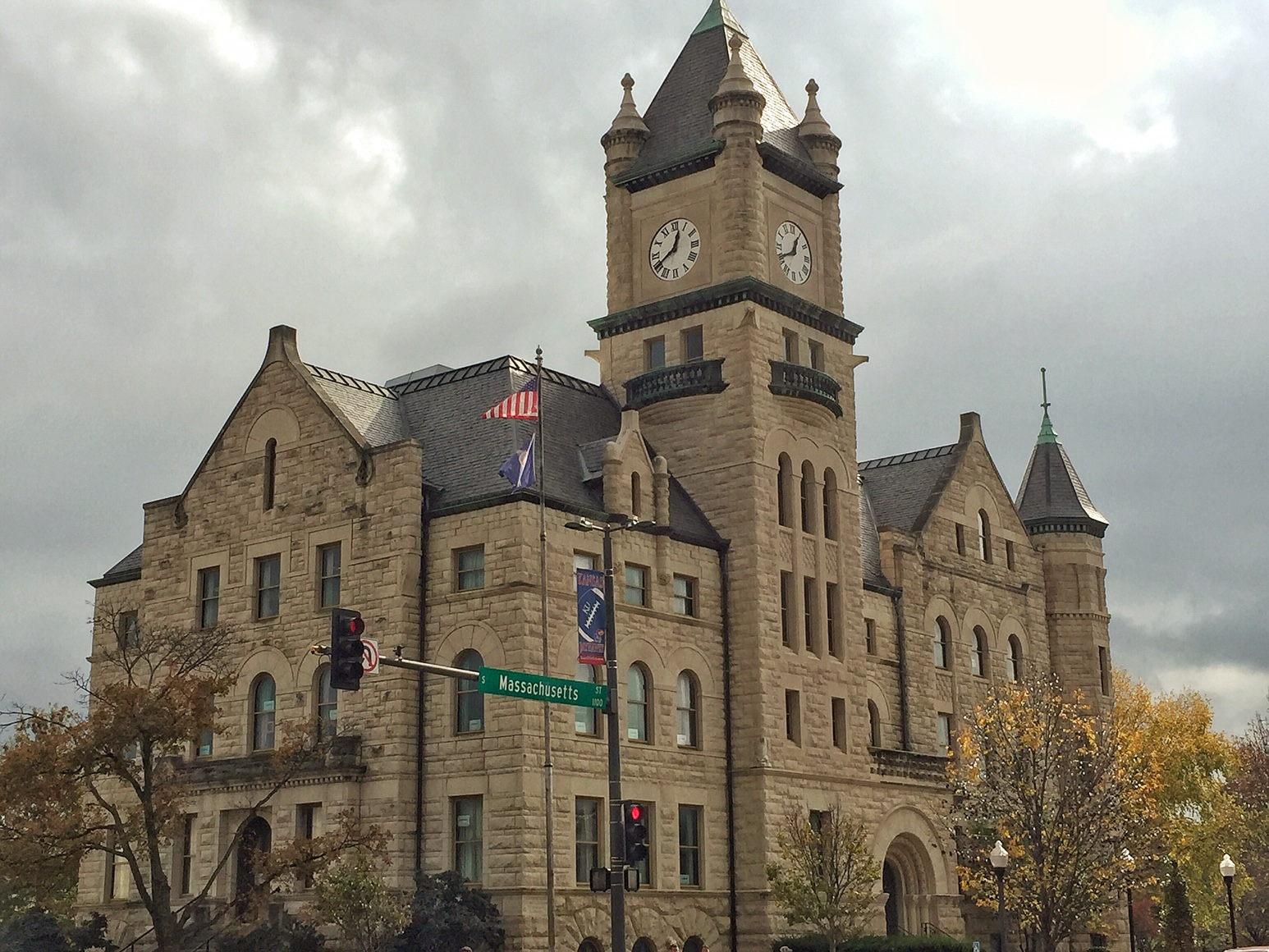 Douglas County Courthouse, Lawrence, Kansas (Photo by J. Schafer)