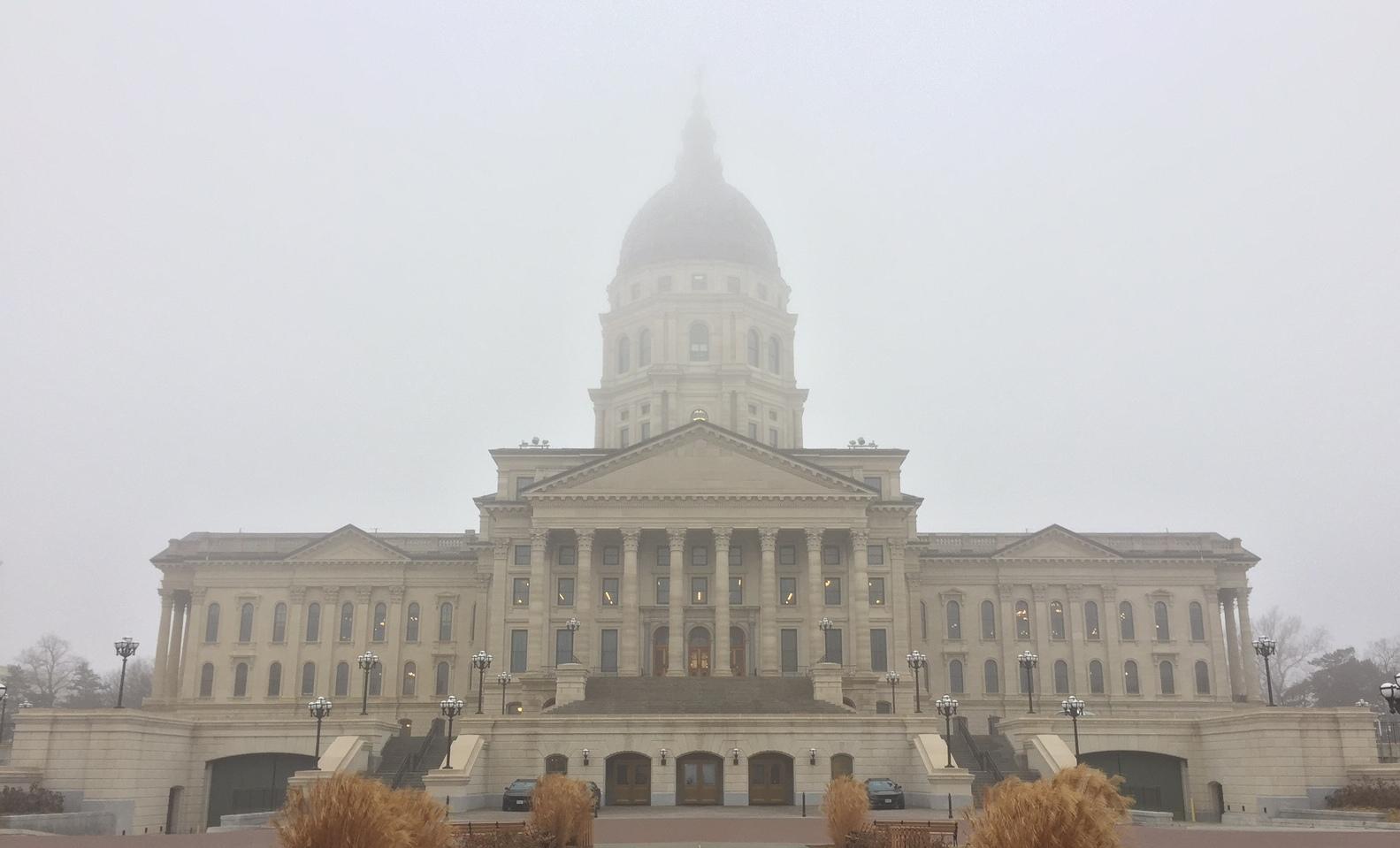 The Kansas Statehouse in 2017. (Photo by Stephen Koranda)
