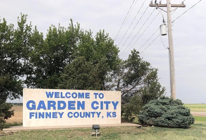 Finney County, as of Monday, ranked second behind Ford County for the highest number of COVID-19 cases in Kansas.  (Photo by Angie Haflich, High Plains Public Radio)