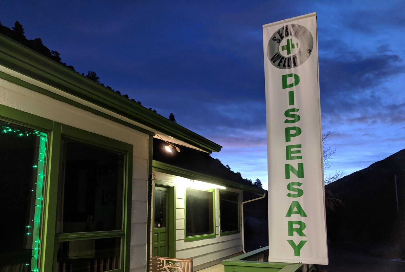 A marijuana dispensary in Colorado. (Photo by Scott Canon, Kansas News Service)