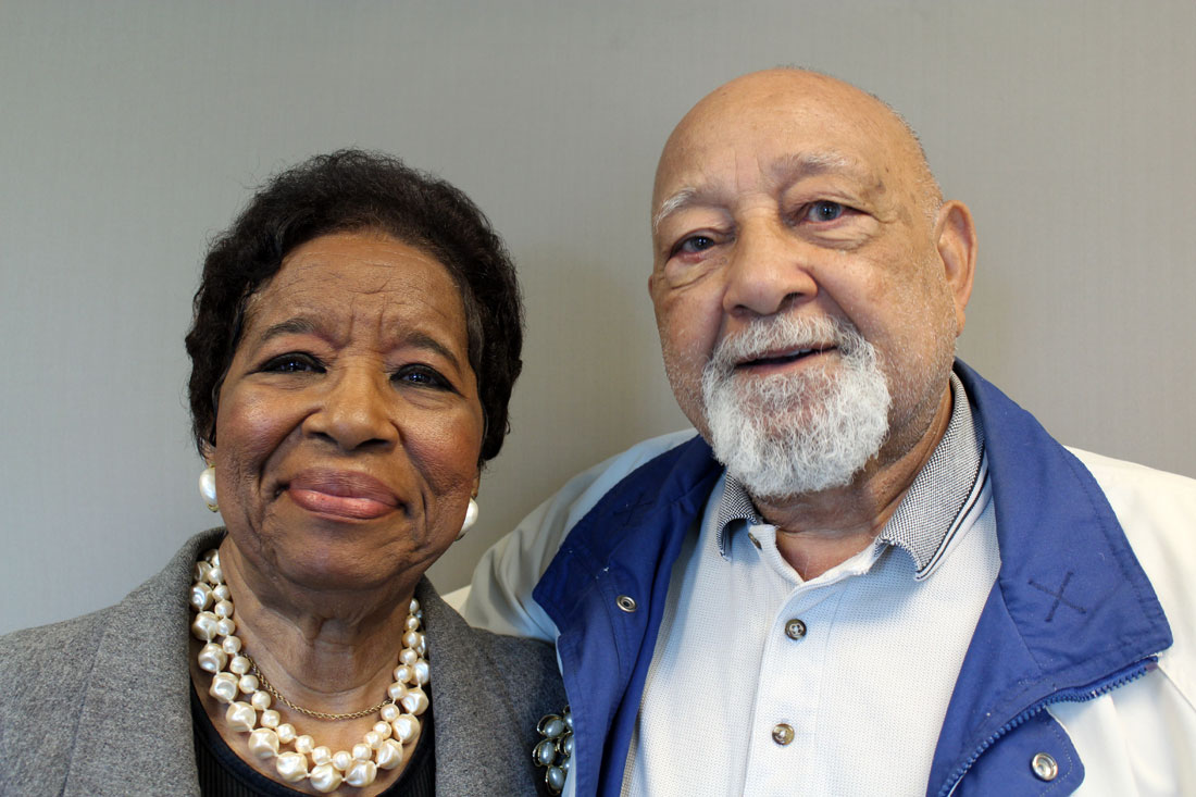 Darlene Jackson and Jack Alexander talk about their experiences going to segregated and integrated schools. They reflect on their experiences in light of the 60th anniversary of Brown vs. Board of Education decision.