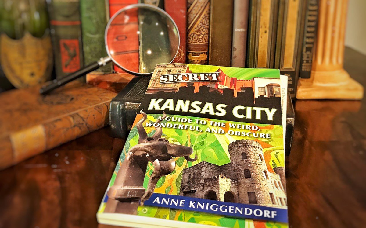 Secret Kansas City, now in its 3rd printing, was written by freelance writer Anne Kniggendorf. (Photo by J. Schafer)