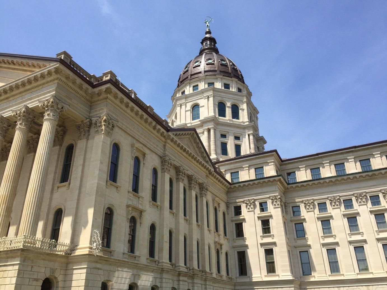 The Kansas Statehouse in Topeka. (Photo by Stephen Koranda)