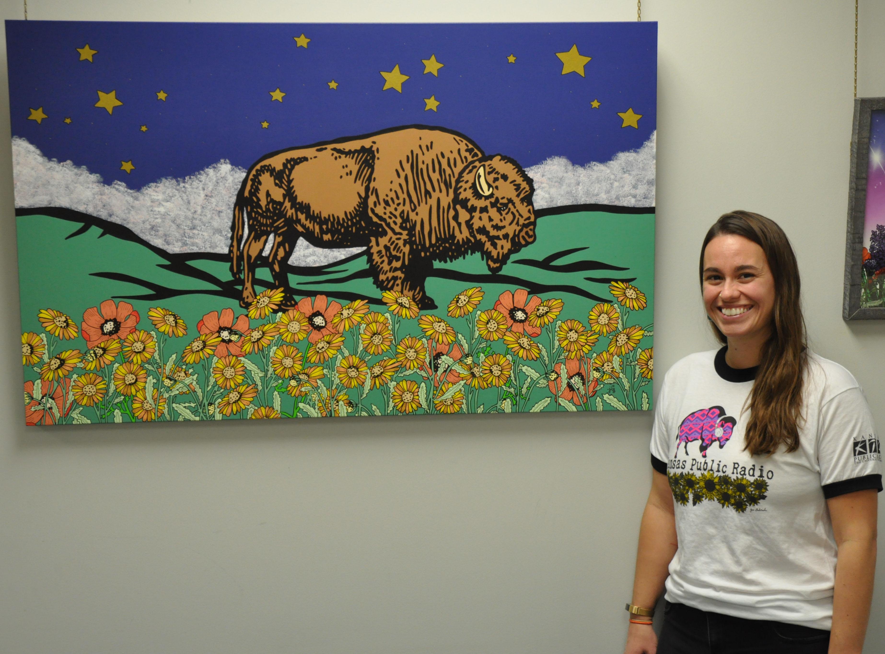 Local artist Jen Gabriele