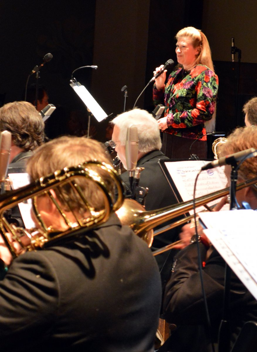 Kathleen Holeman, Big Band Christmas 2015.