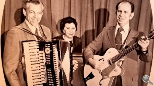 """From the 1940's through the mid 1980's, the """"Pleasant Valley Gang"""" filled the early morning airways with live music on WIBW Radio 580 in Topeka. (Photo Courtesy WIBW)"""