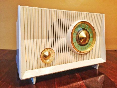 Cool radio (Photo by J. Schafer)