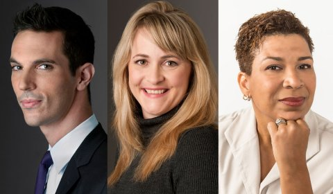 NPR's Ari Shapiro, Kelly McEvers and Michel Martin.
