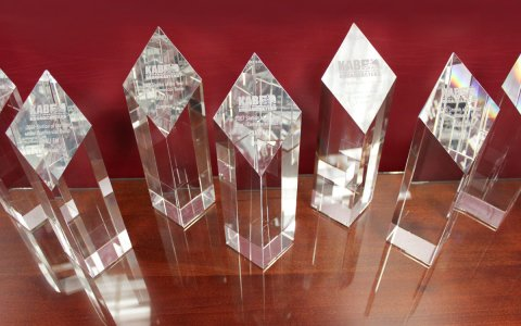 The KAB first presented the Station of the Year award in 1996, and KPR has earned the top award 16 of the past 21 years, more than any other Kansas radio or TV station. (Photo by Joanna Fewins)
