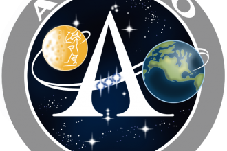 NASA insignia for the Apollo program