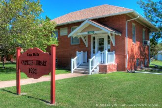In 1921, the last Carnegie built library in the United States opened in Canton, in McPherson County. (Photo by Gary Clark/phototree.com)
