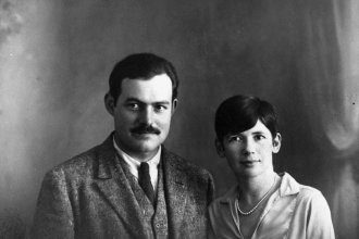 Portrait of Ernest Hemingway and Pauline Pfeiffer, Paris, Circa 1927. (Photo Courtesy of JFK Presidential Library)