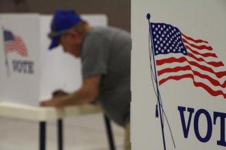 A Kansas polling place in November 2018. (Kansas News Service file photo)