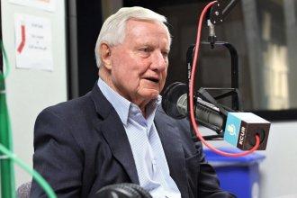 Former Kansas state Sen. Dick Bond. (Photo by Luke X. Martin, KCUR)