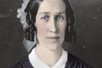 Photo of Clarina Nichols from Kansas State Historical Society