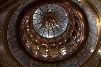Kansas will have to plug a $1.3 billion budget shortfall between now and June 2021, but the state will have to be careful about where it makes cuts. (Photo by Daniel Caudill, Kansas News Service.)