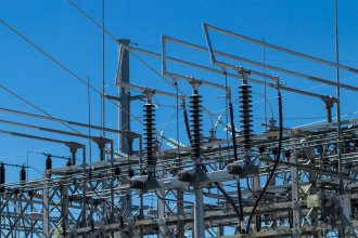 Electric substation (Photo by Brian Grimmett / Kansas News Service)