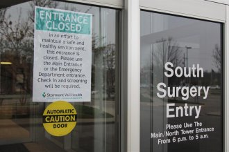 Stormont Vail Health is reducing pay for many employees during the coronavirus pandemic. (Photo by Celia Llopis-Jepsen, Kansas News Service)