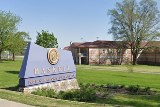 Haskell Indian Nations University in Lawrence, Kansas.