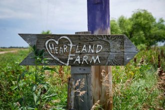 Heartland Farm near Great Bend, Kansas is operated by the Dominican Sisters of Peace. (Photo by Brian Grimmett, Kansas News Service)