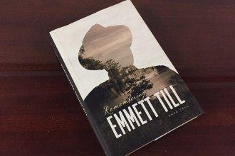 Remembering Emmett Till, by KU Professor Dave Tell (Photo by J. Schafer)