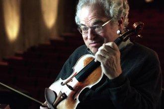 Conductor and violinist Itzhak Perlman (Photo from Itzhak Perlman's website: http://www.itzhakperlman.com/)
