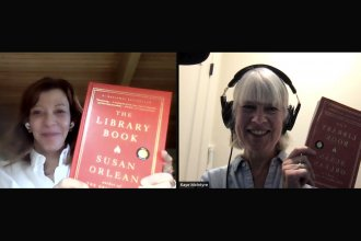Screenshot of Susan Orlean and Kaye McIntyre