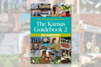 The Kansas Guidebook 2 is a new and updated guide to all things Kansas, written by two women who've been everywhere in the state (Marci Penner and WenDee Rowe).