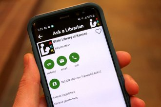 An app can help Kansans answer questions about the Legislature. (Photo by Stephen Koranda)