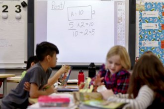 Kansas schools face uncertainty entering the 2020-21 school year, with many school administrators expecting drastic budget cuts in the fall, once the state's budget fully absorbs the impact of the coronavirus pandemic. (Photo by Chris Neal, Kansas News Service)
