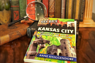 Secret Kansas City, now in its 3rd printing, was written by freelance writer Anne Kniggendorf. (Photo by J. Schafer)
