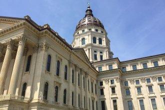 The Kansas Statehouse. (Photo by Stephen Koranda)