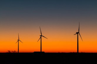A wind farm in Ellsworth County, Kansas. (Photo by Brian Grimmett, Kansas News Service)