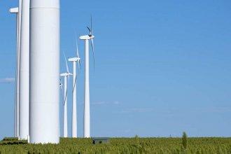 Turbines at the Gray County Wind Farm near Montezuma, Kansas. (Photo by Brian Grimmett, Kansas News Service)