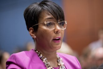"""Atlanta Mayor Keisha Lance Bottoms condemned weekend violence that included the killing of an 8-year-old girl. """"You can't blame this on a police officer,"""" Bottoms said. """"You can't say this is about criminal justice reform."""""""
