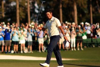 Hideki Matsuyama became the first Japanese man to win a major golf tournament after winning the Masters at Augusta National Golf Club Sunday.