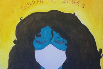 Ciera Amaro's art is one of the submissions to a project called Dispatches from Quarantine.