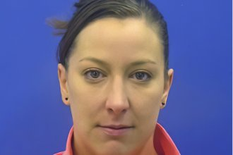 Driver's license photo of Ashli Babbitt. The 35-year-old Air Force veteran was shot and killed by a U.S. Capitol Police Officer when she attempted to breach the Chamber of the US House of Representatives on Jan. 6.