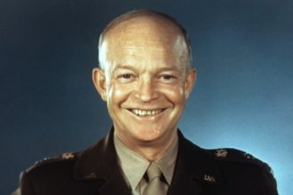 General and later President Dwight D. Eisenhower hoped to reduce worldwide conflict through peaceful personal diplomacy.  Essentially, this meant getting people from different nations together so that they might better understand and relate to one another and thus, be less likely to go to war.