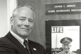Stephen E. Ambrose, historian and best-selling author