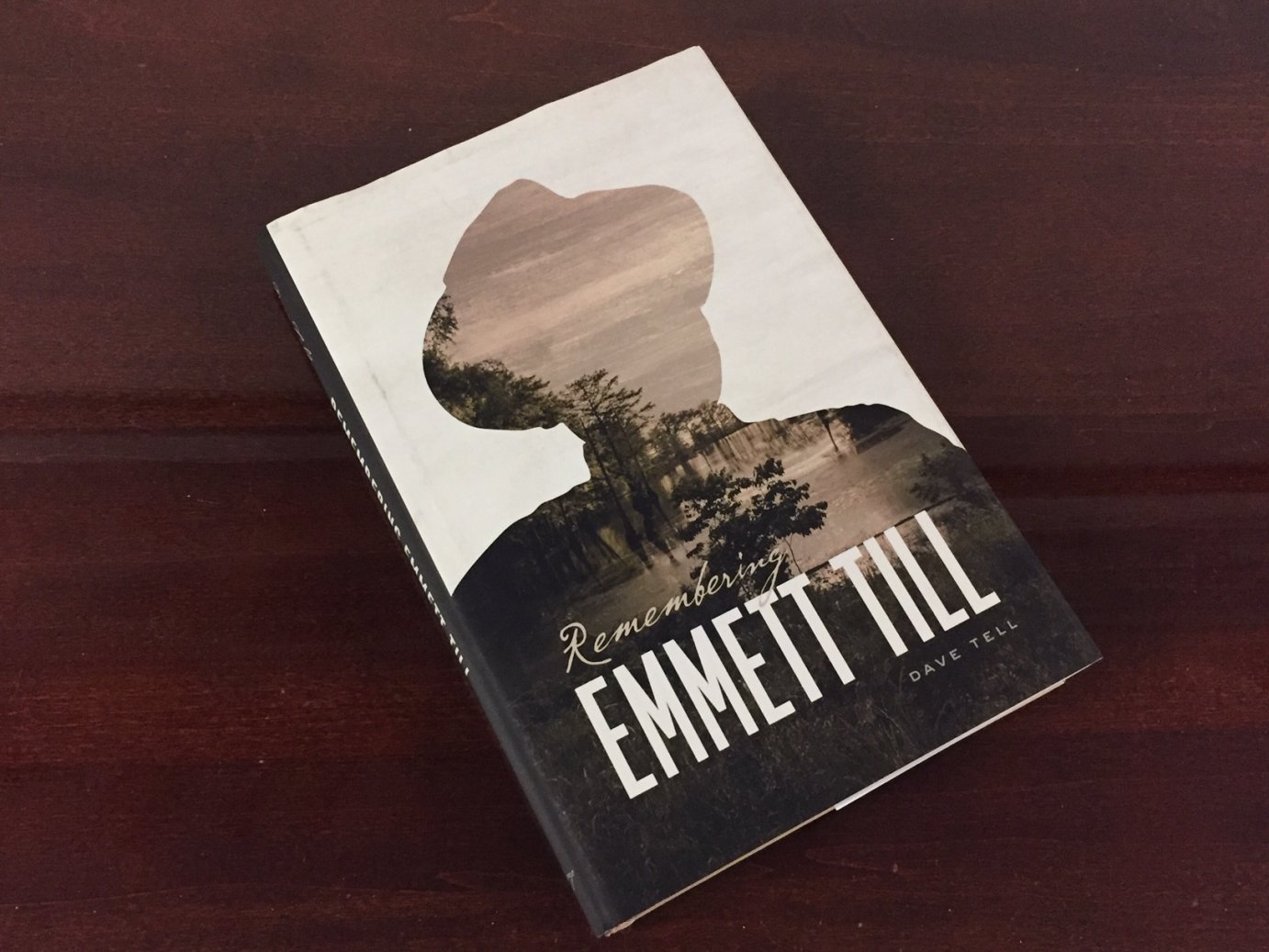 Remembering Emmett Till, by KU Professor Dave Tell (Photo by J. Schafer)