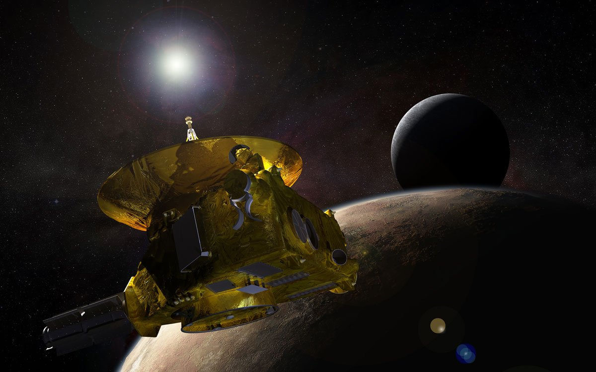 New Horizons launched on Jan. 19, 2006; it swung past Jupiter for a gravity boost and scientific studies in February 2007, and is now conducting a five-month-long reconnaissance flyby study of Pluto and its moons in summer 2015. (Flickr Photo via NASA's Marshall Space Flight Center)