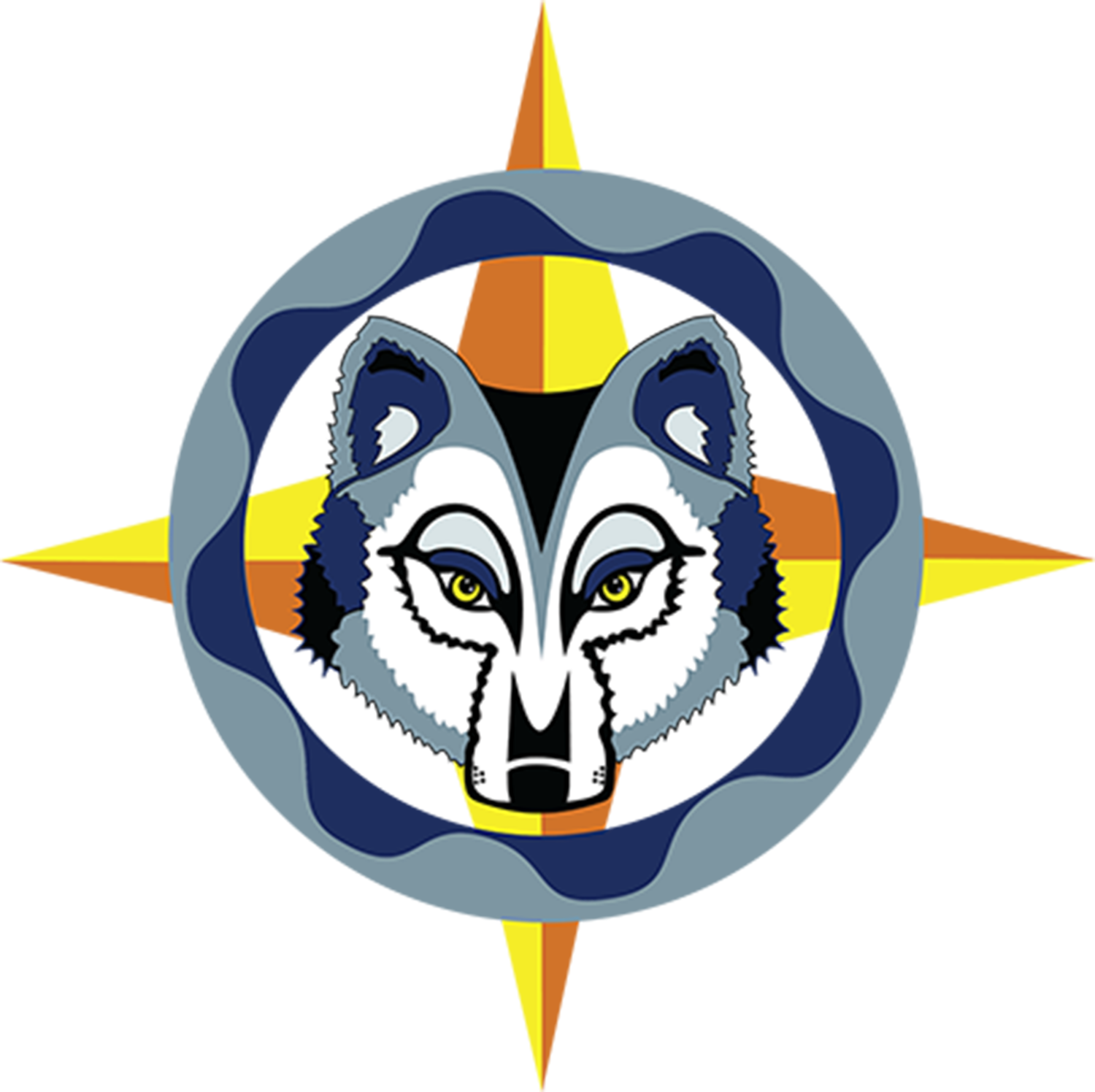 This logo for the Wolf Creek generating station was designed by Blackbear Bosin.